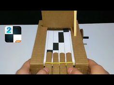 색종이로 우유팩 접는 방법 (풀 사용) - YouTube