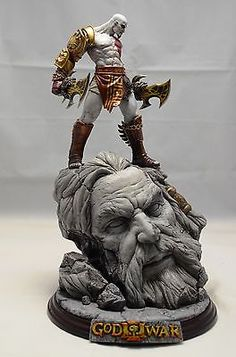 God of War 3 Kratos Statue Collection Kratos God Of War, Good Of War, Anime Figures, Action Figures, Bishoujo Statue, Poses References, 3d Prints, Figure Model, Cool Toys