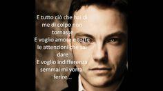 Ti scatterò una foto- Tiziano Ferro. Letra en italiano.