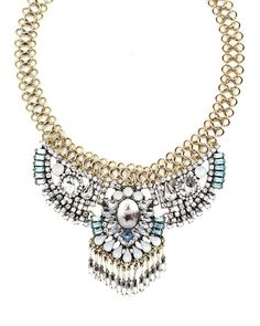 Mystic Fringe Bib Necklace from The Shopping Bag