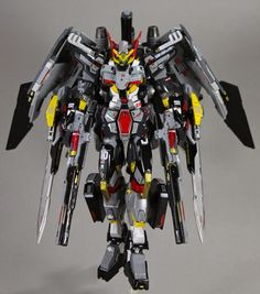 GUNDAM GUY: HG 1/144 Gundam Astraea Arfogaeth + K9 Dogpack [Full Unit Heavy System] - Custom Build