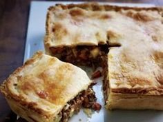 AUTHENTIC Meat and potato pie