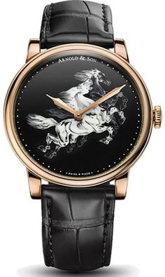 Buy this Arnold & Son HM Horses Set here at Exquisite Timepieces Arnold Son, Latest Watches, Luxury Watches For Men, Unique Watches, Vintage Watches, Lux Watches, Fashion Watches, Sons, Rose Gold