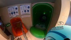 Aqua Dome Reifenrutsche (Single Tube) 360° VR POV Onride Water Slides, Vr, Landline Phone, Tube, Aqua, Make It Yourself, Water