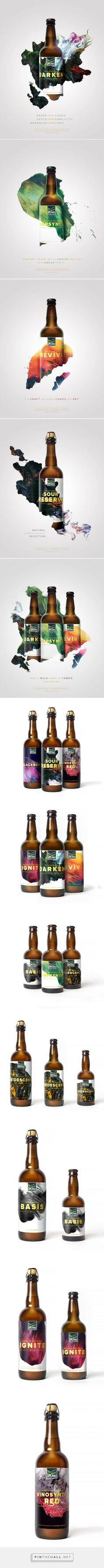Upland Sour Ales: Branding & Packaging by Young & Laramore