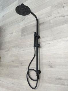 Bathroom Brass diverter Handheld Shower Head Sliding Rail Set Matt Black 2017