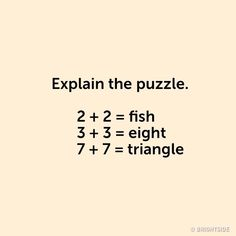 10 Tricky Puzzles That Will Totally Blow Your Brain Brain Teasers Riddles, Brain Teasers With Answers, Brain Teasers For Kids, Brain Teaser Puzzles, Funny Riddles, Jokes And Riddles, Kids Math Worksheets, Maths Puzzles, Riddles With Answers Clever