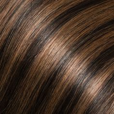 Highlight and lowlight browns in tape in hair extensions - no chemicals, no bleaching, no damage to your real hair, perfect. www.glamseamless.com