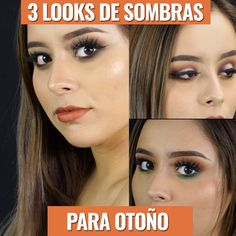 3 Tips de maquillaje con sombras para otoño 3 makeup tips with shadows for this fall Makeup Tips, Beauty Makeup, Hair Makeup, Eyeshadow Looks, Eyeshadow Makeup, Makeup Brushes, Elegant Make-up, Makeup Black, Hooded Eye Makeup