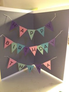 How to Create a Banner Birthday Card
