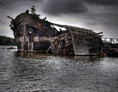 Old Abandoned Ships are the things dreams are made of