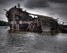 Old Abandoned Ships