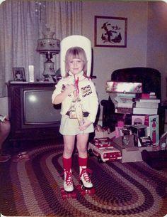 by Sam Howzit - Vintage Rollerskating presents at Christmas