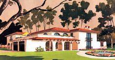 Mediterranean Prairie Style House Plan 43008 Elevation