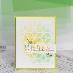 So Lucky - Love Cards