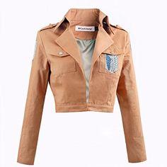 CoolChange Attack on Titan Uniform Jacke des Aufklärungstrupp (S)