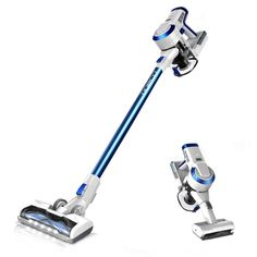 Tineco Hero Cordless Stick Vacuum Cleaner Lightweight Digital Motor Lithium Battery and LED Brush, Handheld Vacuum