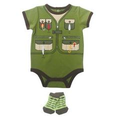 Baby Boy Fisherman Onesie We already have this outfit so its perfect!!