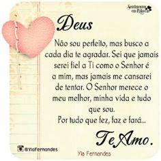 #Deus #amor #fe #esperanca#YlaFernandes