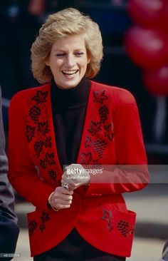 April 18, 1989: Princess Diana helps launch the Bike '89 Charity Ride at Hyde Park.