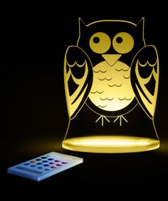 Love this Owl LED Night-Light on #zulily! #zulilyfinds
