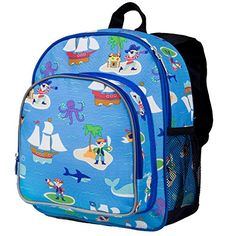 Olive Kids Pirates Pack 'N Snack, 2015 Amazon Top Rated Lunch Bags #Kitchen