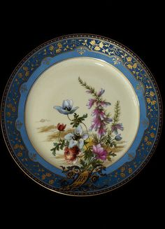 Plate | Sèvres porcelain factory | V Search the Collections
