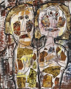View COMPAGNONNAGE by Jean Dubuffet on artnet. Browse upcoming and past auction lots by Jean Dubuffet. Modern Art, Contemporary Art, Art Informel, Jean Dubuffet, Painting Collage, Paintings, Art Brut, Naive Art, Art For Art Sake