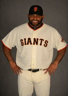 San Francisco Giants' Pablo Sandoval (48) is photographed during photo day at spring training at Scottsdale Stadium in Scottsdale, Ariz., on Wednesday, Feb. 20, 2013. (Jose Carlos Fajardo/Staff)