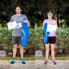 Thank you to our VIM 5K runners, congratulations to the winners Donovan Fontaine 23:30 min and Jill McConnell 30:02 min
