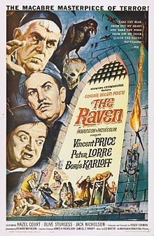 The Raven (1963) with Vincent Price, Peter Lorre, and Boris Karloff.