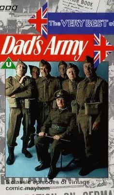 Find more tv shows like Dad's Army to watch, Latest Dad's Army Trailer, During in a fictional British seaside town, a ragtag group of Home Guard local defense volunteers prepare for an imminent German invasion. British Tv Comedies, British Comedy, English Comedy, British Humour, British Books, English Movies, British Actors, Comedy Tv, Comedy Show