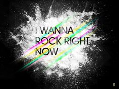 I Wanna Rock Right Now! Another try at typography with some lights. I Wanna Rock Rob Base, My Music, Old School, Typography, Neon Signs, Rock, My Love, Words, Truths