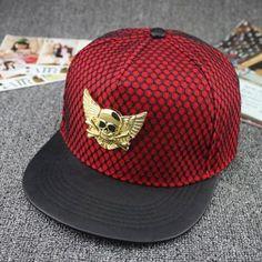 Fashion Snapback Hat Caps Skull