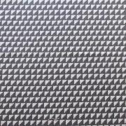 """Ellen Luckett Baker Framework Canvas - Steps (Charcoal) 15% Linen/85% Cotton, canvas, 44/45"""" wide"""