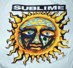 Sublime Vinyl Sticker 40 Oz To Freedom Sun Logo- stickers for my car Sublime With Rome, Sublime Sun, Lp Vinyl, Vinyl Records, Vinyl Art, Freedom Wall, Ska Music, Ska Punk, Sun Logo