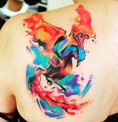 Afbeeldingsresultaten voor Feminine Phoenix Tattoo Designs