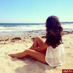 summer beach - cream/white lace/crochet waistcoat thing (wear over bikini/swimming costume) Hello Summer, Summer Breeze, Summer Of Love, Summer 2014, Summer Beach, Summer Vibes, Summer Highlights, Water Waves, Love Photos