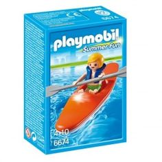 Playmobil 6674: Kayak Precio: 3,95 € Disponible en: http://www.playmoclicks.com/es/summer-fun/1122-playmobil-6674-kayak.html