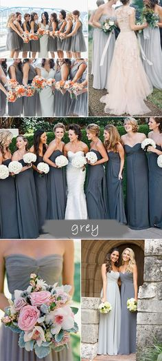 shades of grey bridesmaid dresses 2015 trends