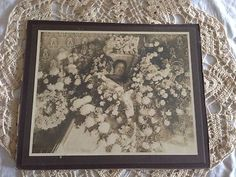 Postmortem Antique Photo Edwardian Dead Woman Wife Mother and Sister 9x11 | eBay