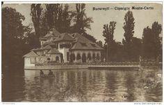 Bucuresti - Cismigiu - Monte Carlo - interbelica Bucharest, Monte Carlo, Memories, Country, Beautiful, Cousins, Romania, Cards, Souvenirs