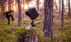Michael Grab Rock Balance