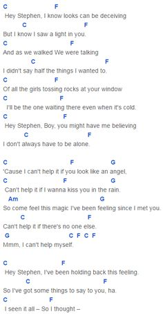 Fearless, Taylor Swift Hey Stephen Chords Lyrics for Guitar Ukulele Piano Keyboard with Strumming Pattern on Standard No capo, Tune down and Capo Version. Im Yours Ukulele Chords, Guitar Chords And Lyrics, Music Lyrics, Piano Music, Sheet Music, Basic Guitar Lessons, Ukulele Tabs, Ukulele Songs, Piece Of Music