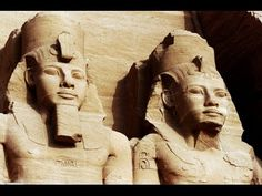 Statue of Ramses II at the Great Temple of Abu Simbel on the border of Egypt and Sudan. Free art print of The Great Temple of Abu Simbel. Sites Touristiques, Famous Artwork, Free Art Prints, Ancient Mysteries, Black People, Destruction, Black Men, Lion Sculpture, History
