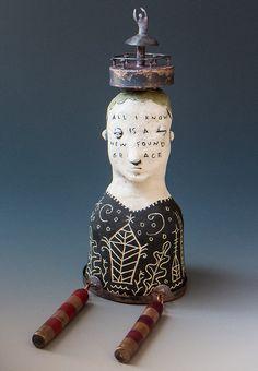 Morgan Brig | Mixed Media Sculpture | New found grace