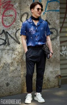 23b389a36 Anonymous, Photographed in Milan - Click Photo To See More. Samantha  Southard · Men's style