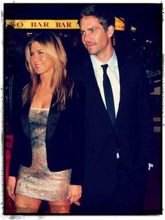 Jennifer Aniston & Paul Walker