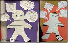 First Grade Fairytales: 4 Types of Sentences: Mummy Style! {freebie}