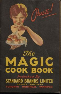 The Magic cook book This has been archived and you can check out some recipes from way back! Retro Recipes, Old Recipes, Cookbook Recipes, Vintage Recipes, Family Recipes, Cookbook Ideas, Cake Recipes, Dessert Recipes, Craft Ideas